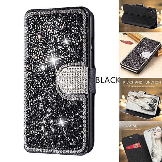 glitter flip case iphone 8 plus