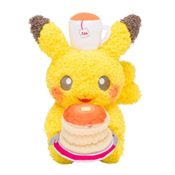 Pokemon Center Original Plush Doll Pikachu Pokémon Meets Karel ?apek (Pancake) 19cm Peluche