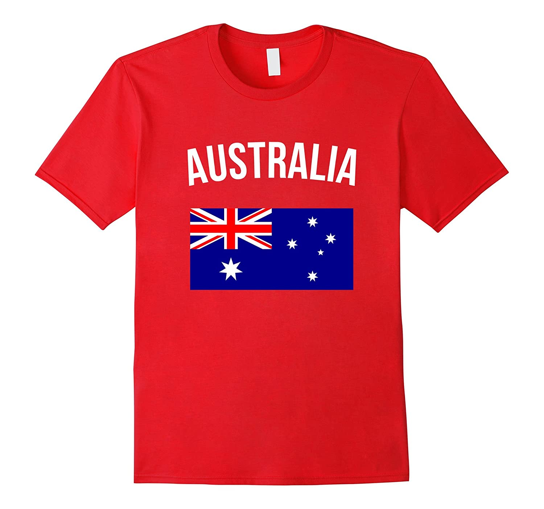 Australia T-shirt Australian Flag Tee Pride Travel Souvenir-FL
