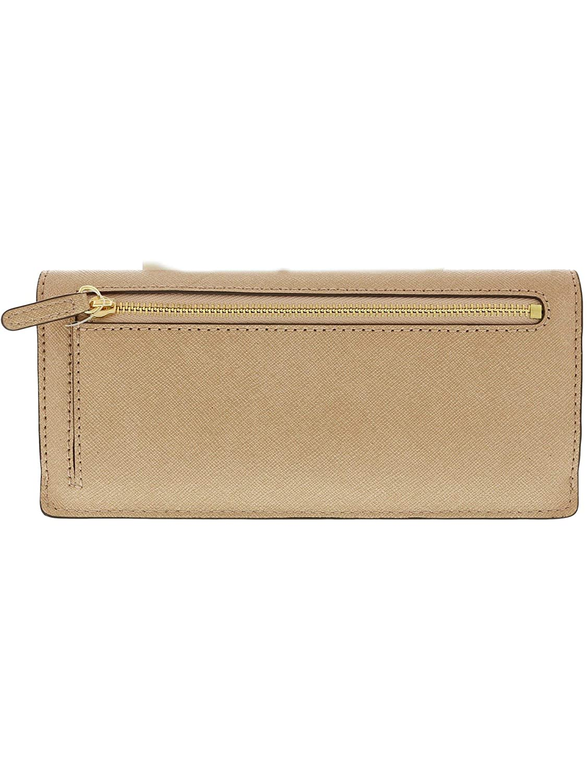 4e1188966ec6 Michael Kors Jet Set Travel Saffiano Leather Slim Flat Wallet in  Ballet Rose Gold  Amazon.co.uk  Clothing