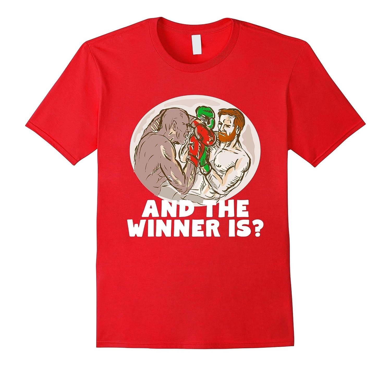 The Winner Is? Team Notorious vs Team Money Boxing T-Shirt-Art