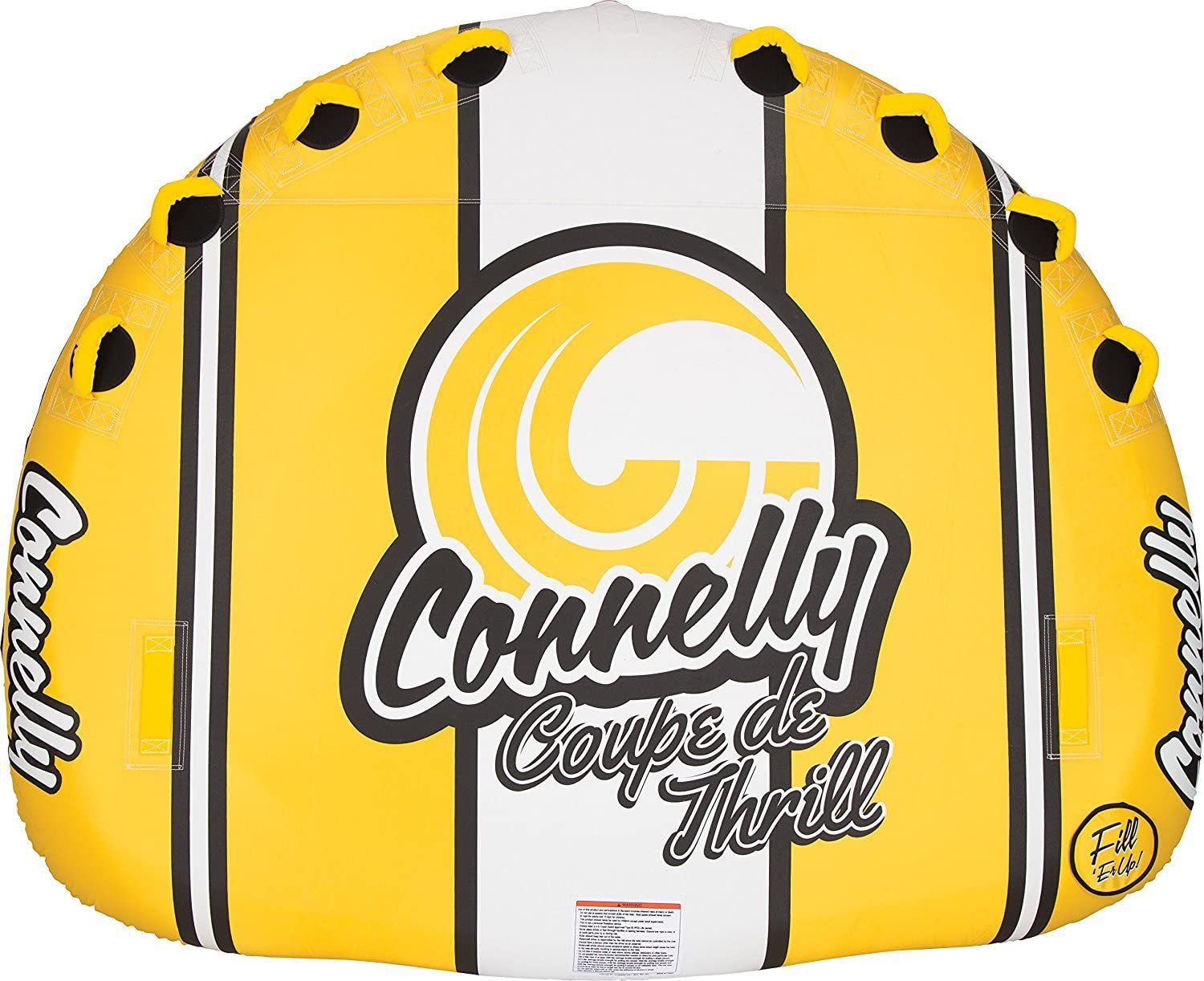 Connelly Classic Deck Style Towable Tube 4 Riders Coupe De Thrill Inflatable Raft [並行輸入品]