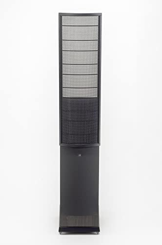 MartinLogan Source High-Performance Electrostatic Loudspeaker Single, Black Discontinued by Manufacturer