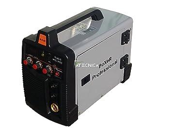 Boxer 205E - Máquina para soldar Mig/Mag Inverter Función MMA Transistores IGBT para la soldadura en continuo y por puntos: Amazon.es: Deportes y aire libre