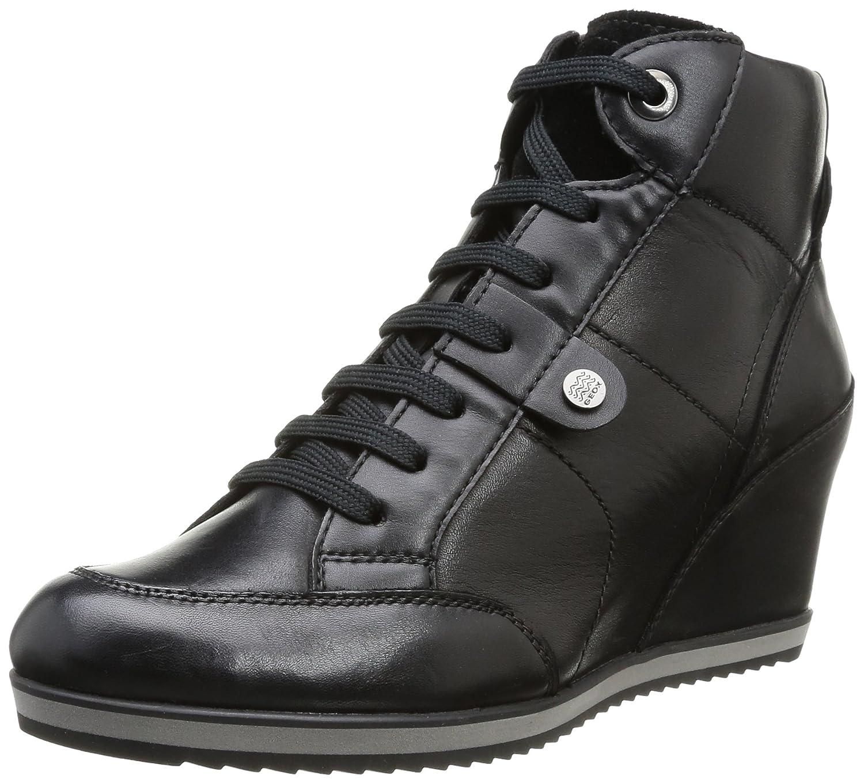 Geox D Illusion A, Zapatillas Altas para Mujer