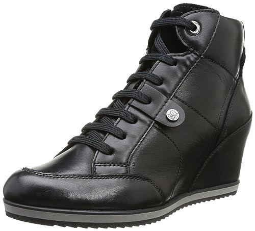 Zapatillas Mujer Illusion Zapatos D A Y Altas Geox es Amazon Para qwU6Pxt
