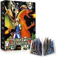 GUBOOM Pokemon verzamelalbum, Pokemon-kaarten, album houder, Pokemon-ordner boek GX EX-kaarten verzamelkaartenalbums…