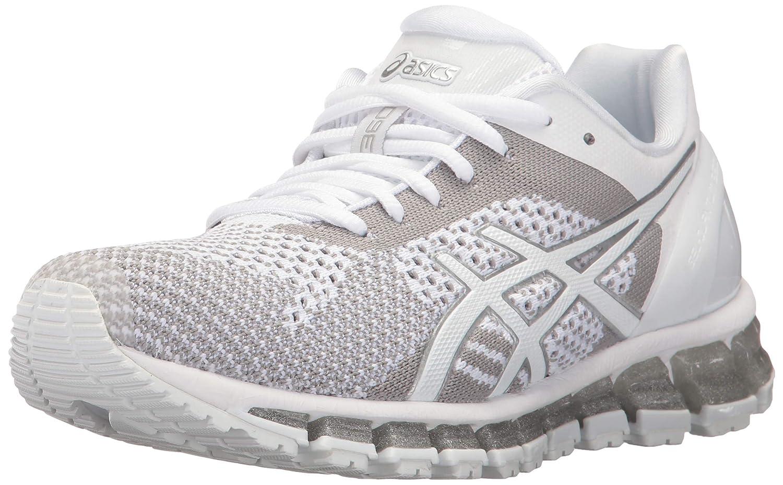 Blanc   Snow   argent ASICS Chaussures de Running pour Homme 40.5 EU