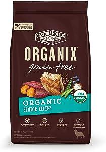 Castor & Pollux Organix Grain Free Organic Senior Dry Dog Food
