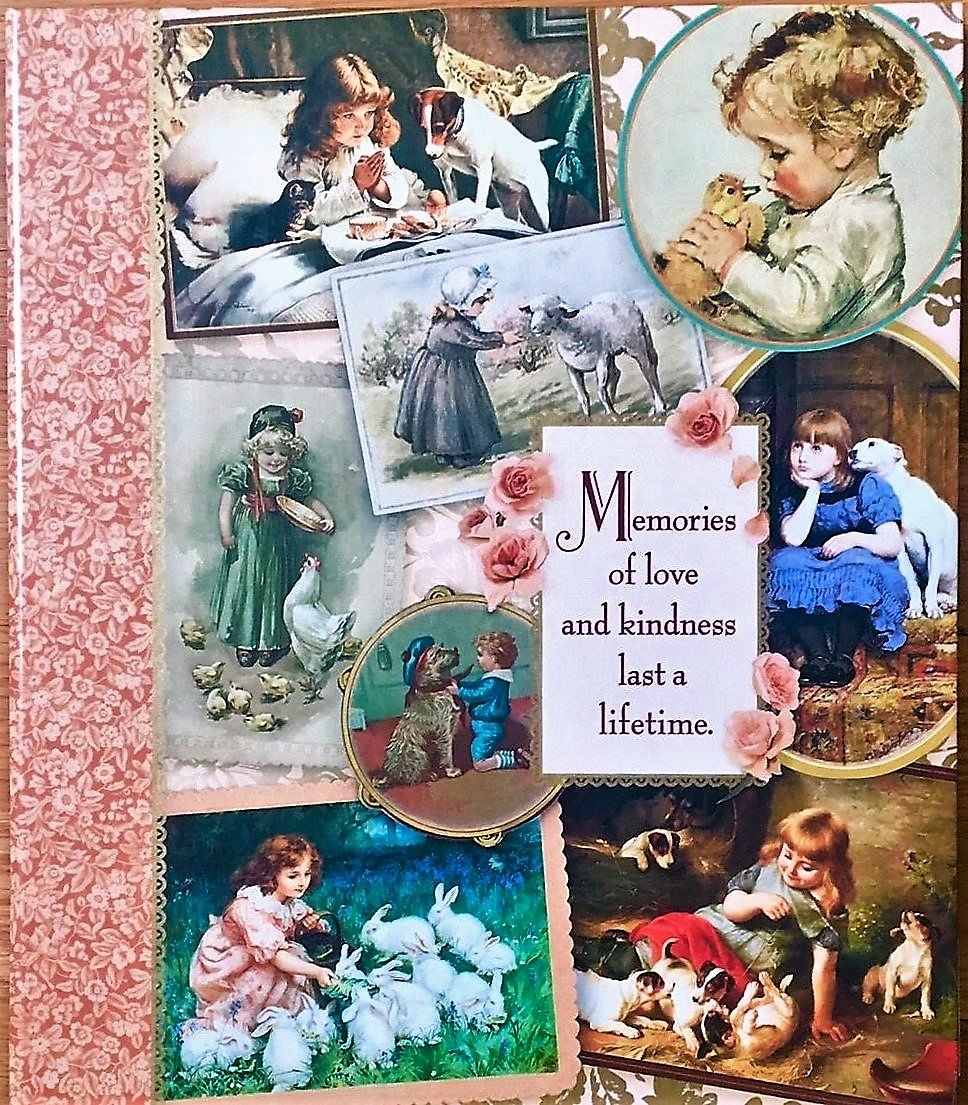 Hallmark MEMORIES OF LOVE & KINDNESS Large Expandable Photo Album Scrapbook