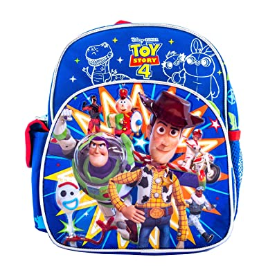 Disney Toy Story 4 Backpacks or Lunch Box Bag Travel Luggage Sold Individually (10 inch) | Kids' Backpacks