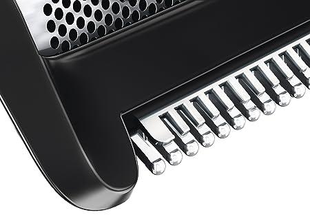 Philips BodyGroom BG2026/15 - Afeitadora corporal inalámbrica, uso en seco y húmedo, con 3 peines guía y base de carga, negro y naranja: Amazon.es: Amazon ...