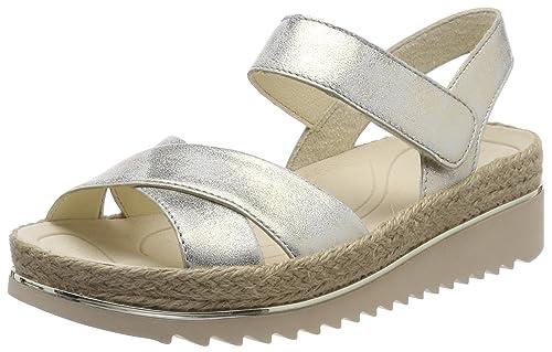 Gabor Shoes Gabor Jollys, Sandalia con Pulsera para Mujer, Multicolor (ENGL.Rose), 41 EU