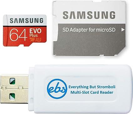 Samsung 64 Gb Micro Sdxc Evo Plus Speicherkarte Für Computer Zubehör