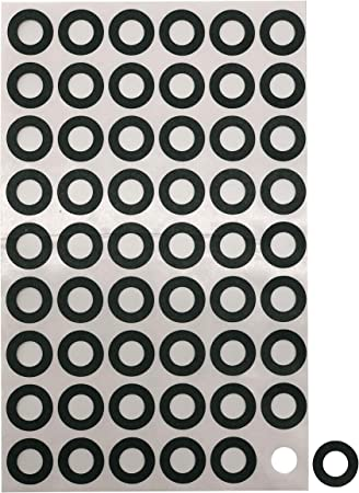 Pet White 18650 Battery Insulator Ring 300pcs Self-Adhesive PET Stickers Insulators Electrical Insulating Adhesive Pet Ring for Sleeving 18650 Cells