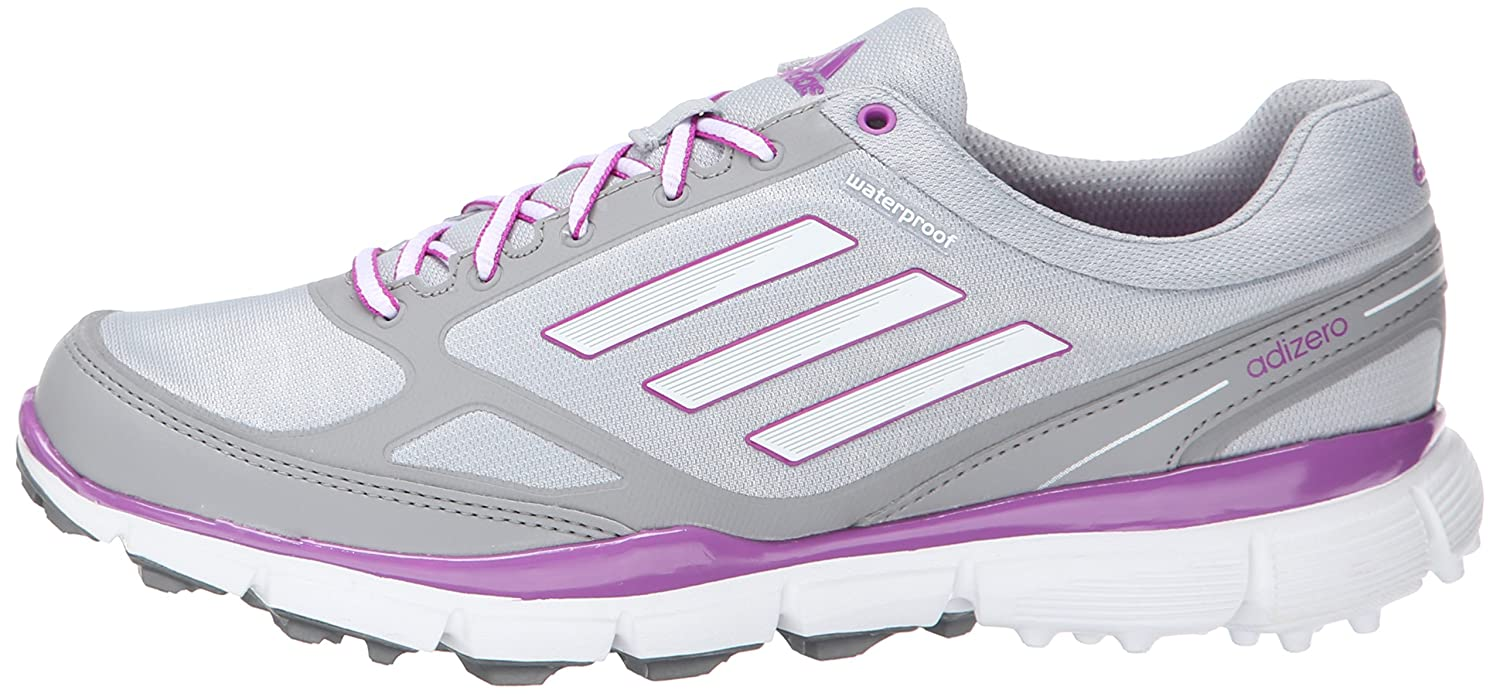 adidas Women's W Adizero Sport III Golf Shoe B00NVSAP9E 8 Pink B(M) US|Clear Onix/Running White/Flash Pink 8 71a98b