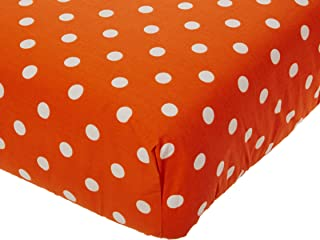 product image for Glenna Jean Apollo Crib Fitted Sheet, Orange