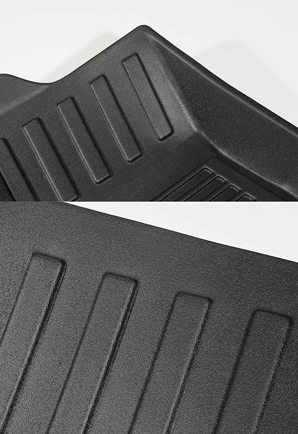 LUCKEASY Car Accessories Interior Modification for Tesla Model Y All-Weather Waterproof TPE Floor Mat Front Rear Trunk Mat Lower Trunk Mat Front