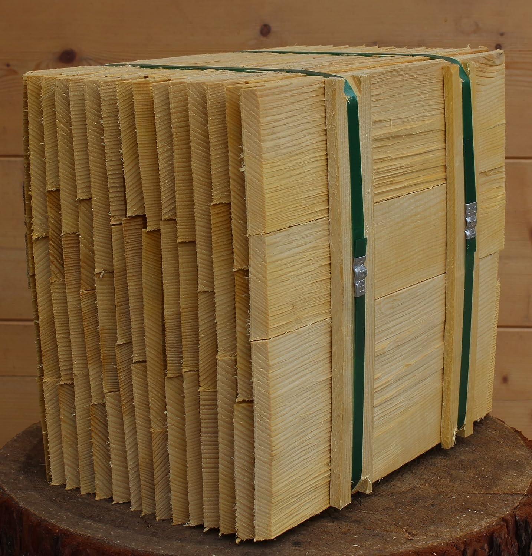 Bundinhalt 9 Breitenmeter Fichtenholzschindeln 40cm