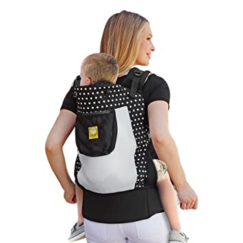 Lillebaby 3 In 1 Carryon Toddler Carrier Airflow Spot On Black