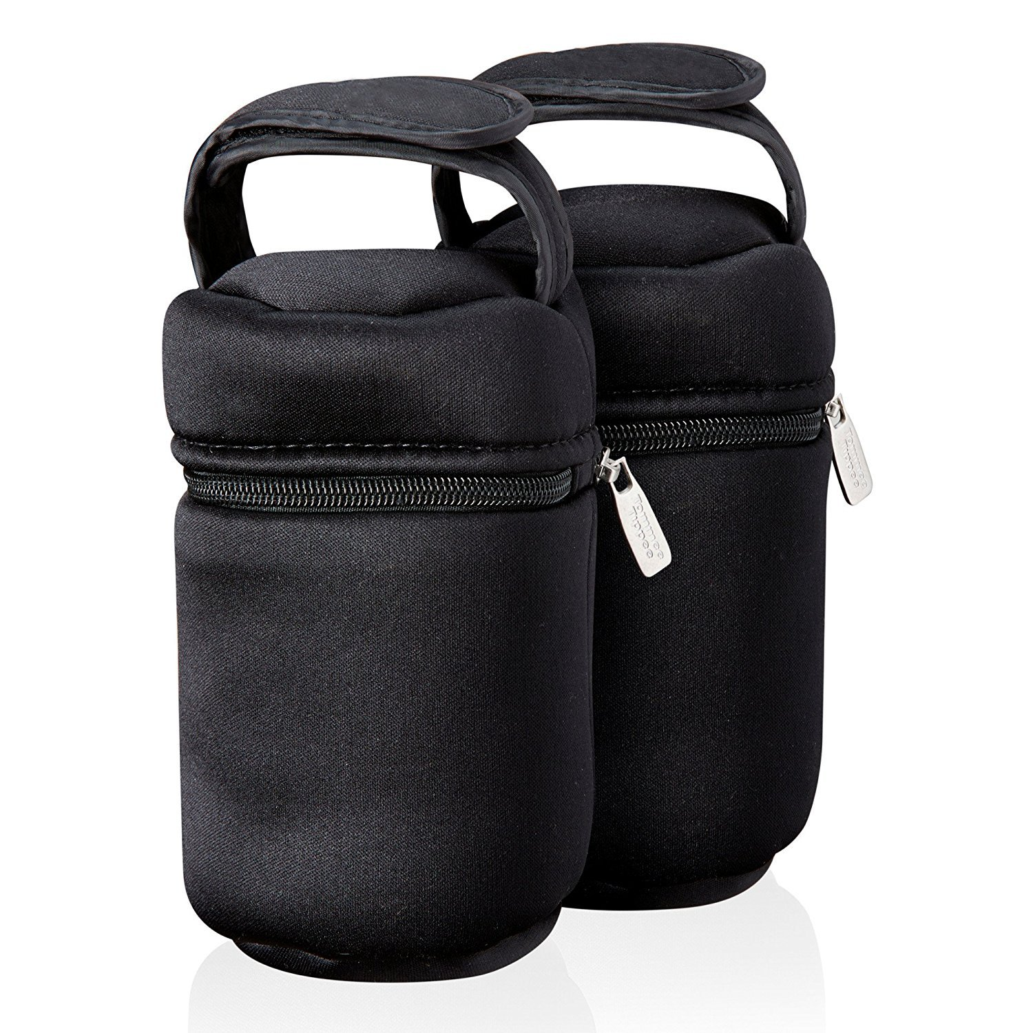 Ctn Insulated Bottle Bags x 2 holds 260ml & 150ml bottles bpa free tommee tippee