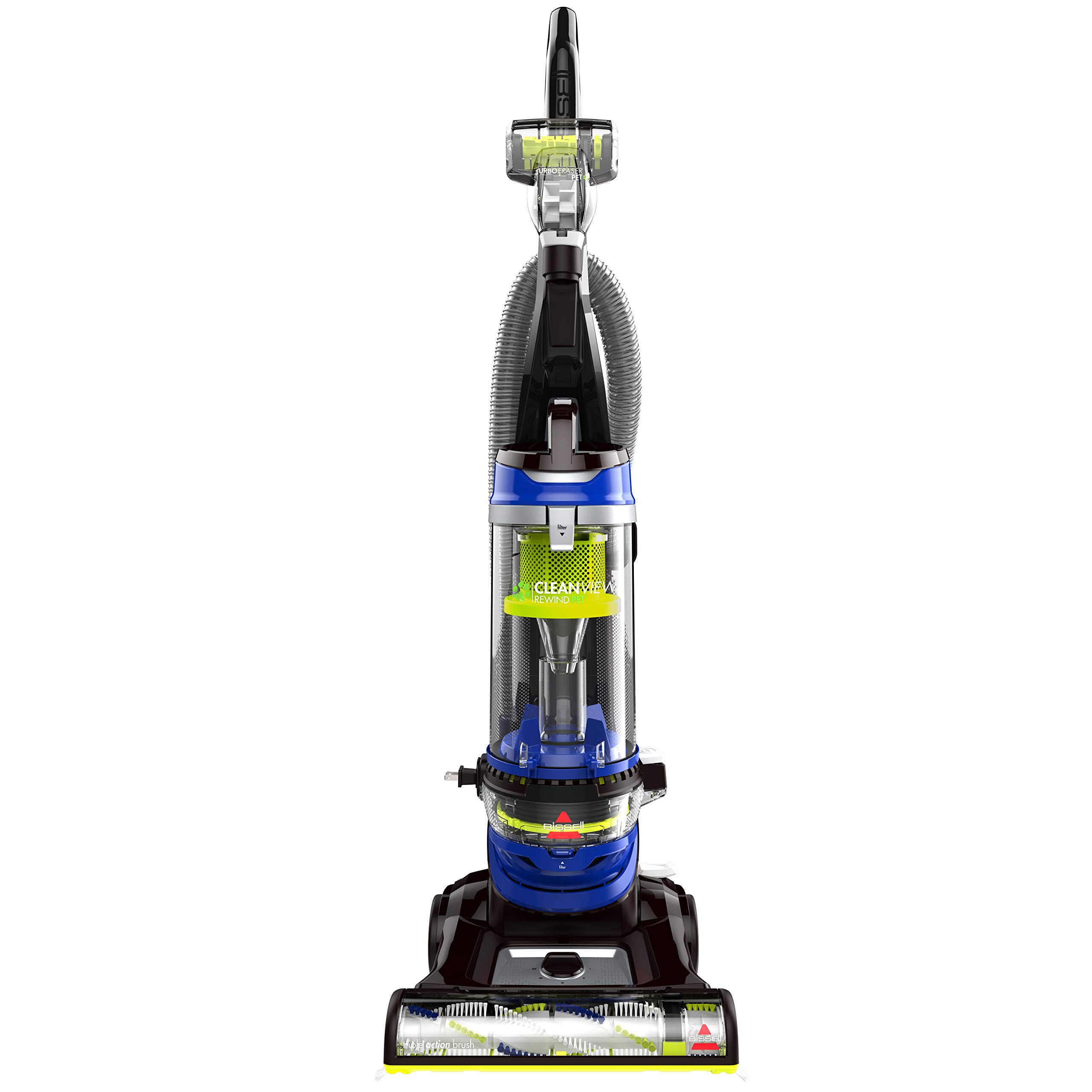 BISSELL Cleanview Rewind Pet Bagless Vacuum Cleaner, 2489, Blue by Bissell