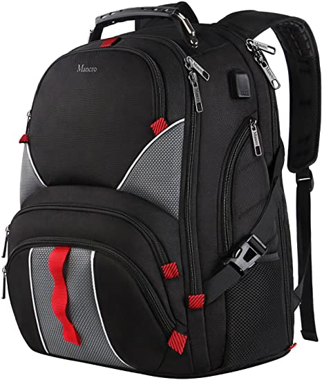amazon com large laptop backpack high capacity tsa durable luggage