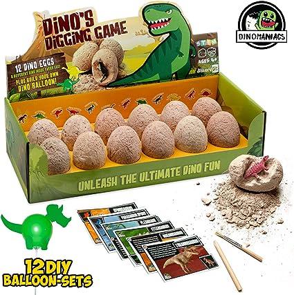 DINOSAUR EGG TRANSFORMER Animal Figure Dino Egg Toy Lost World Girls Boys Gift