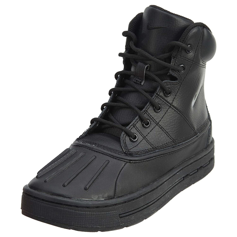 Nike Men's SB Portmore Cnvs Skate Shoe Black/Black-black-black
