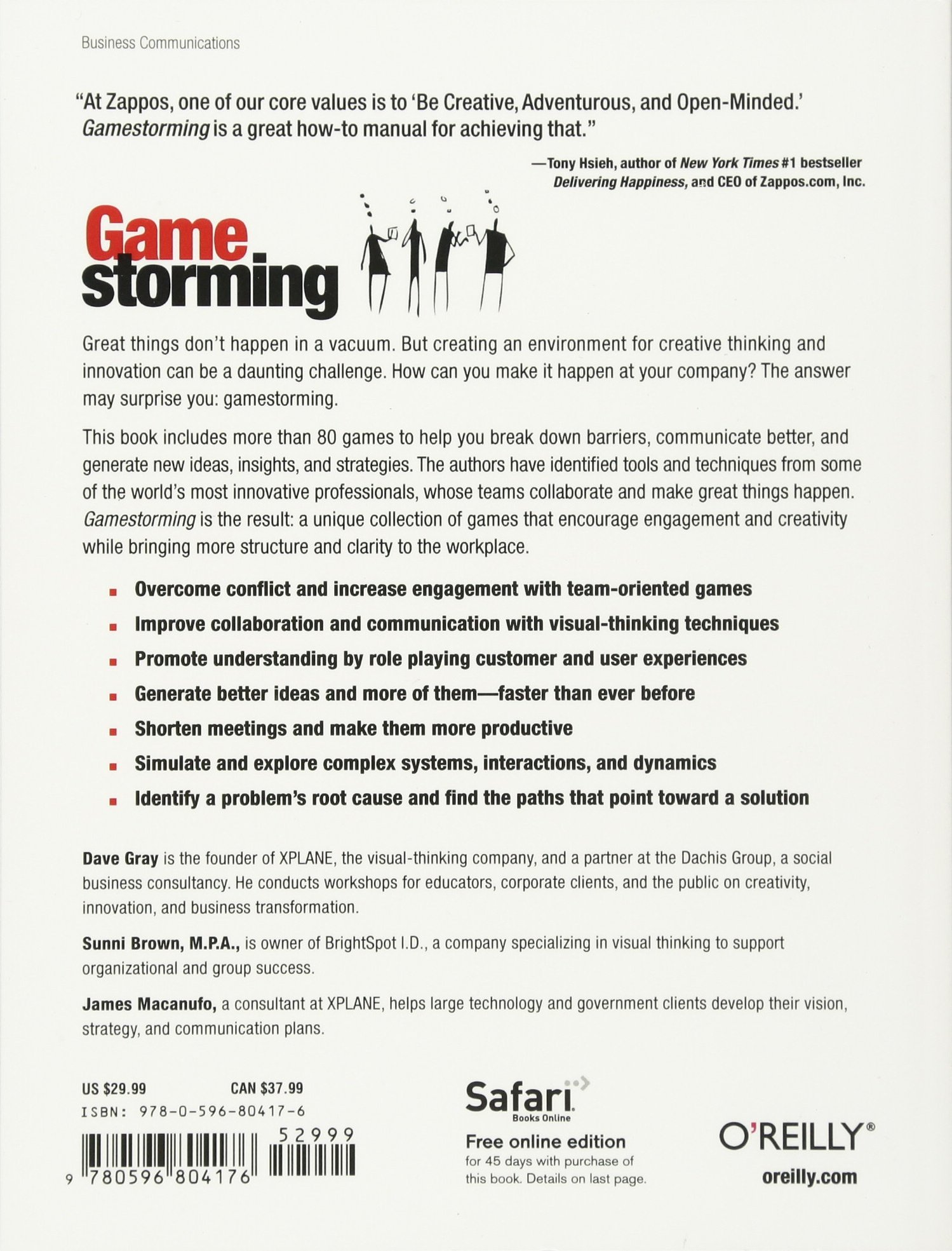 Gamestorming A Playbook For Innovators Rulebreakers And