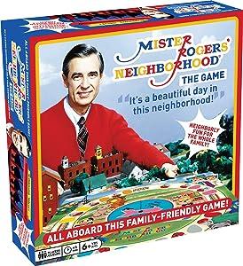 Aquarius Mister Rogers Neighborhood Board Game, Multicolor