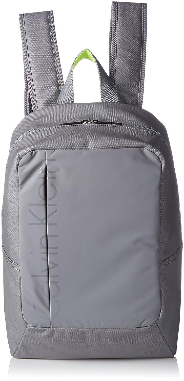 7bd04ae5efe Calvin Klein Jeans Men's LOGAN BACKPACK Shoulder Bag Grey Grau (ICE ...