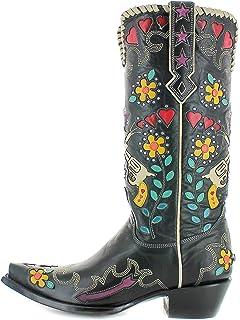 10046ad582e Amazon.com | OLD GRINGO OLIVIA BRASS WOMENS WESTERN BOOT Size 7.5M ...