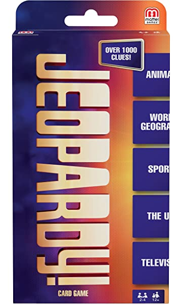 Amazon jeopardy super deluxe software mattel games jeopardy card game solutioingenieria Choice Image