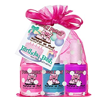 Amazon Piggy Paint Gift Set Birthday Bash Nail Polish Beauty
