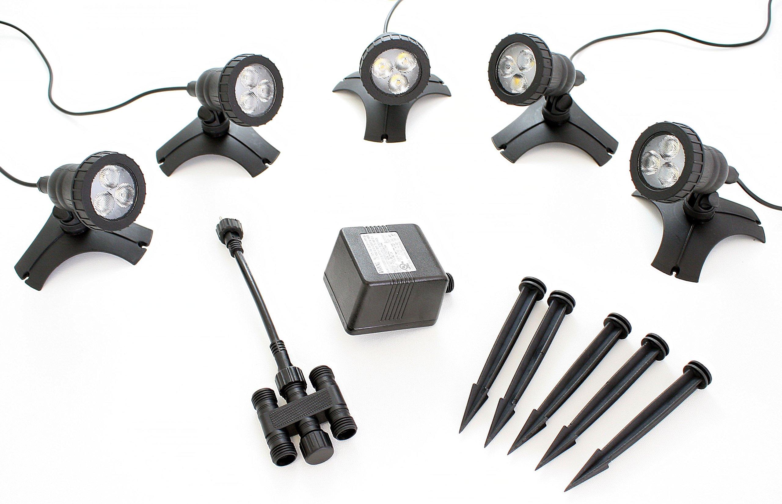 Pond Force LED Pond Light Kit (5 Light Kit) by Pond Force