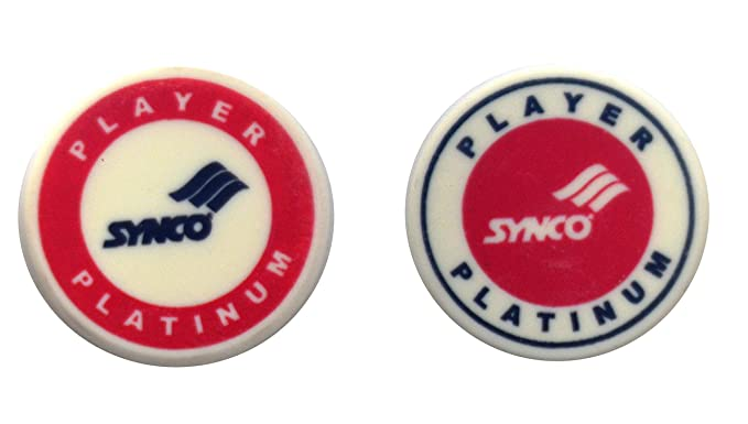 Synco Carrom Accessories Player Series Platinum Striker (Red Combo)