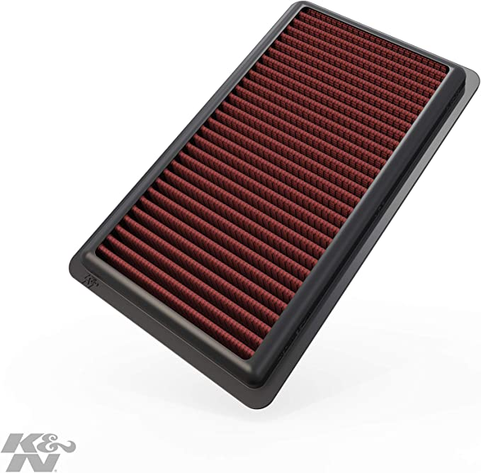 K&N 33-2375 Filtro de Aire Coche, Lavable y Reutilizable: Amazon.es: Coche y moto
