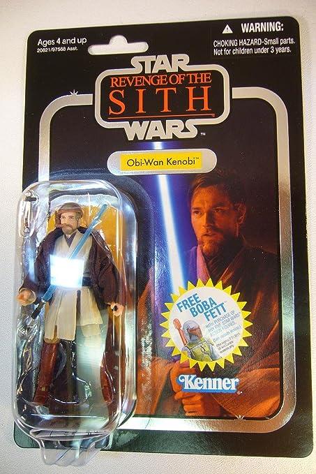 Amazon Com Star Wars 3 75 Vintage Figure Obi Wan Toys Games
