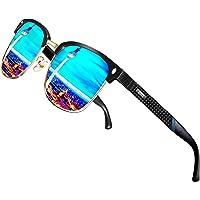 ATTCL Herren Polarisierte Sonnenbrille Al-Mg Ultra Light Metall Rahmen