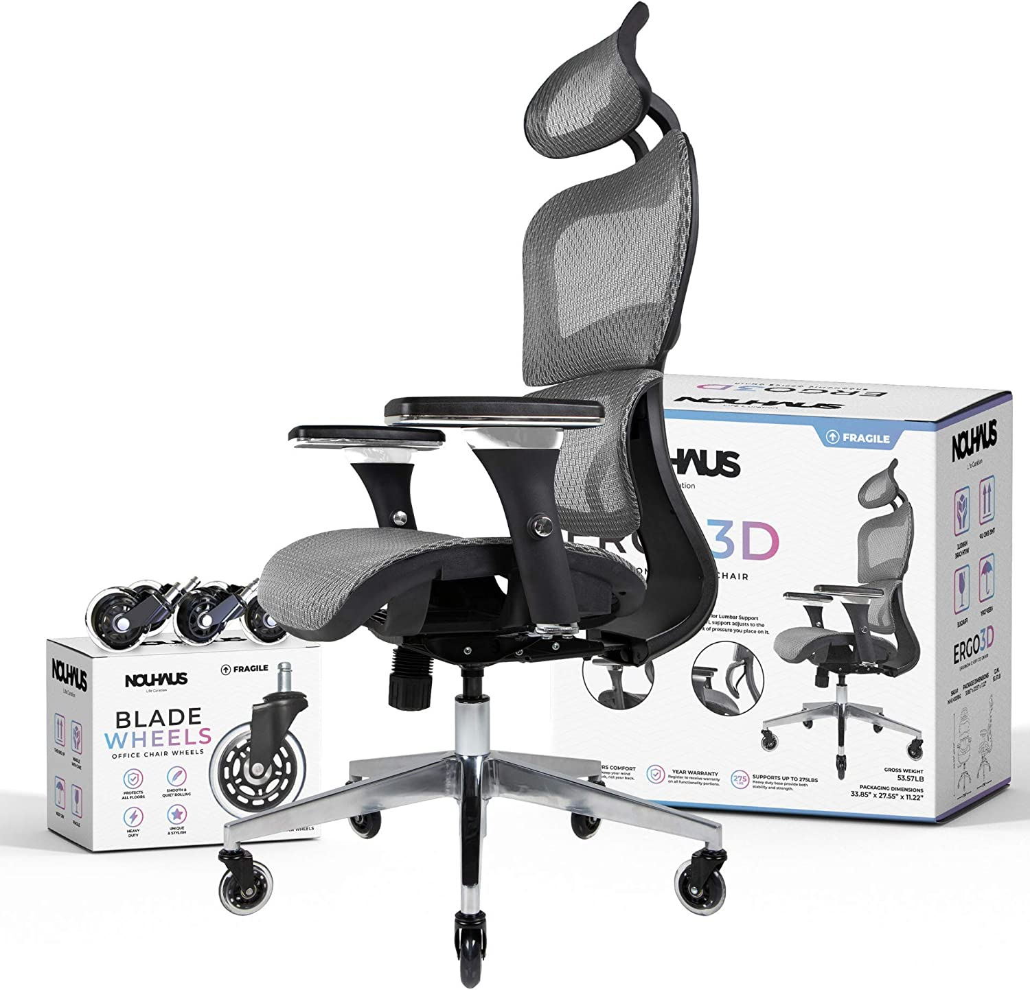81XQt5alGcL. AC SL1500 - What Are The Best Chairs For Back Pain At Home - ChairPicks