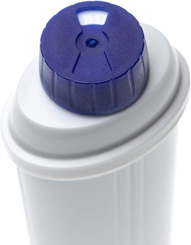 Espressomaschine vhbw Wasserfilter Filter passend f/ür DeLonghi ECAM 44.660.B ECAM 45.760.W ECAM 65.055.MS Kaffeevollautomat