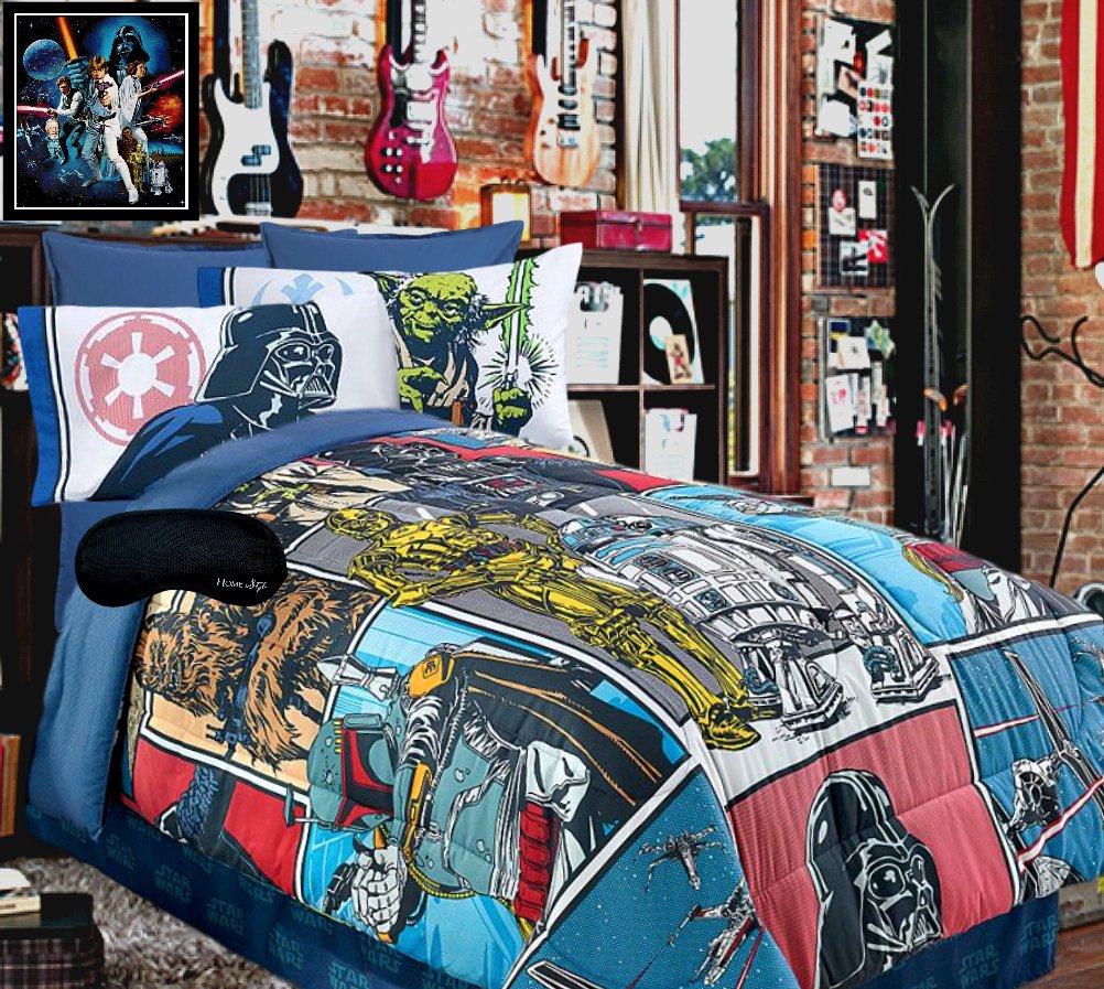 Comforter, Sheet Set + Home Style Sleep Mask 6 Pc. Bedding Bundle