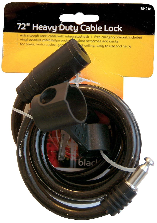 Blackspur de bh216 6 'Câ ble antivol pour vé lo HD Hamble Distribution ltd BB-BH216