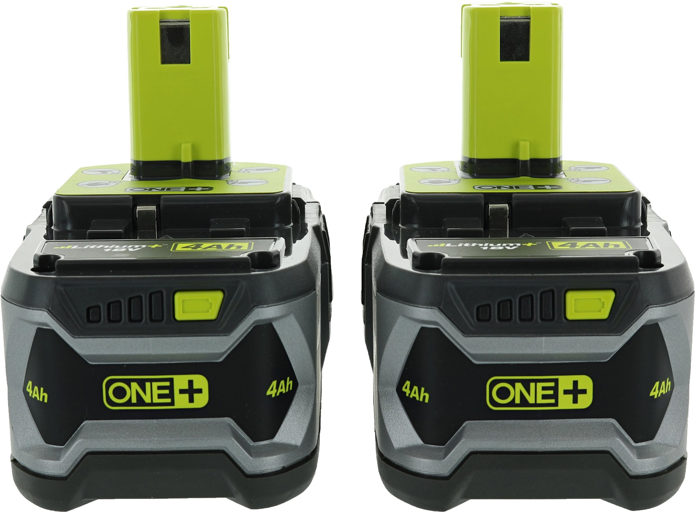 Ryobi P122 4AH One+ High Capacity Lithium Ion Batteries For Ryobi Power Tools (2 Pack of P108 Batteries) by Ryobi (Image #1)