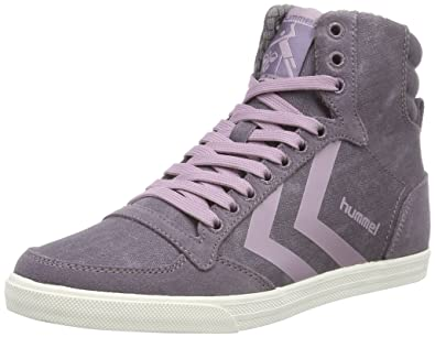 Womens Sl. Stadil Herringbone High Hi-Top Sneakers Hummel miUcFPgP