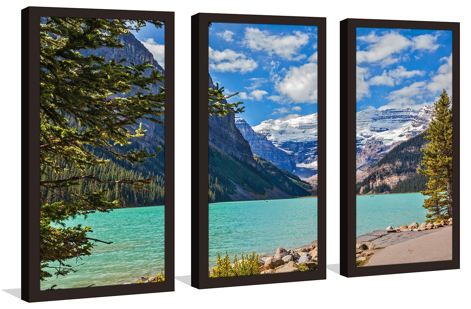 Picture Perfect InternationalAlberta Wonders Framed Plexiglass Wall Art Set of 3