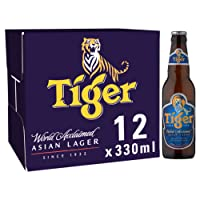 Tiger Lager Beer, 12 x 330ml