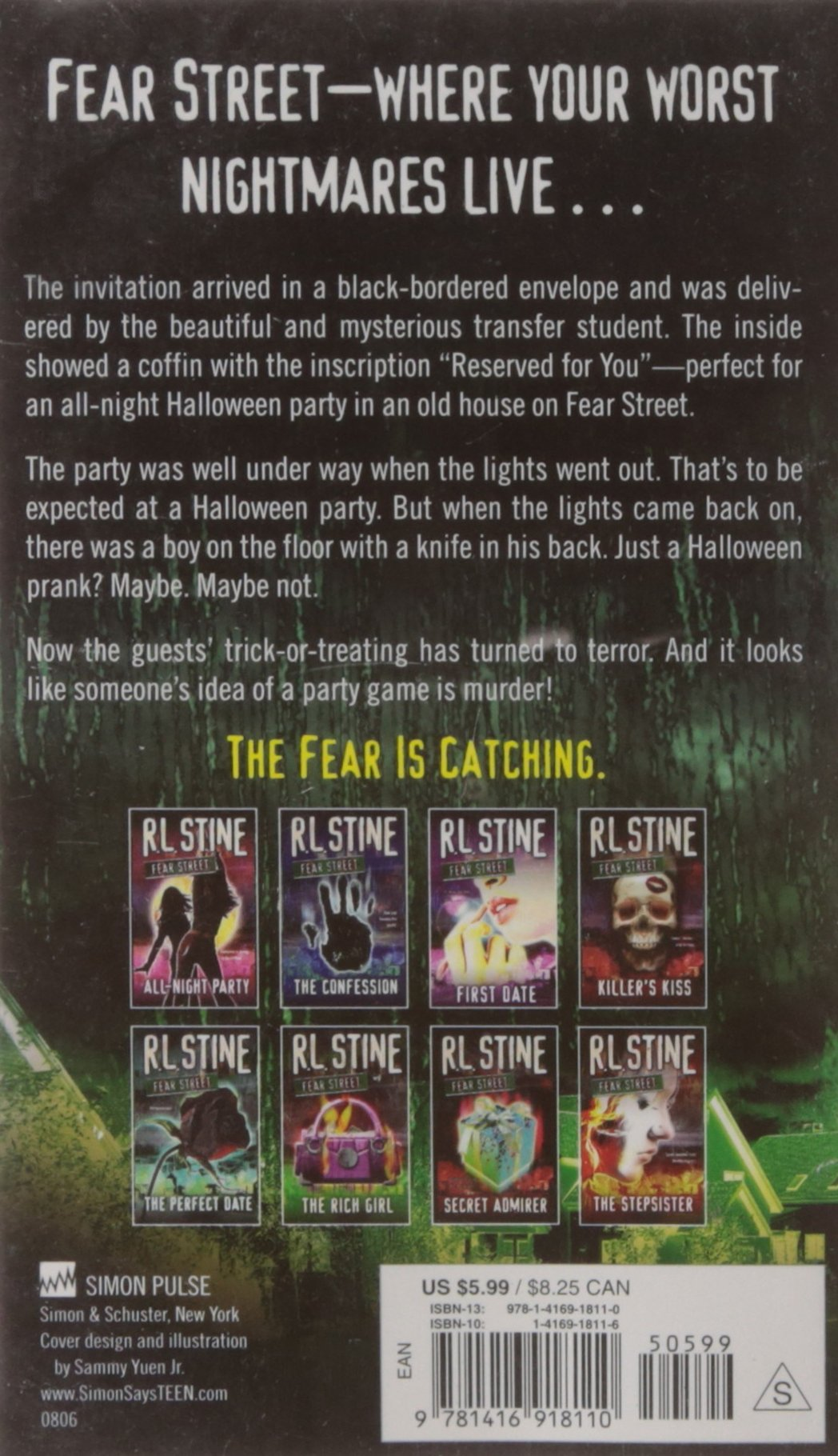 Halloween Party (Fear Street, No. 8): R. L. Stine: 9781416918110 ...