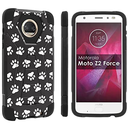 Amazon.com: [popculture] Rugged – Funda para [Moto Z2 Force ...